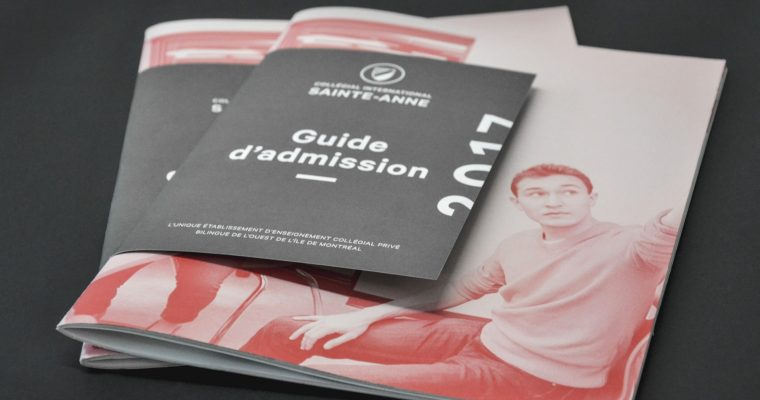 Guide d'admission